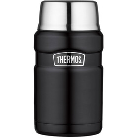 Thermos King Drinkfles 710ml zwart/zilver